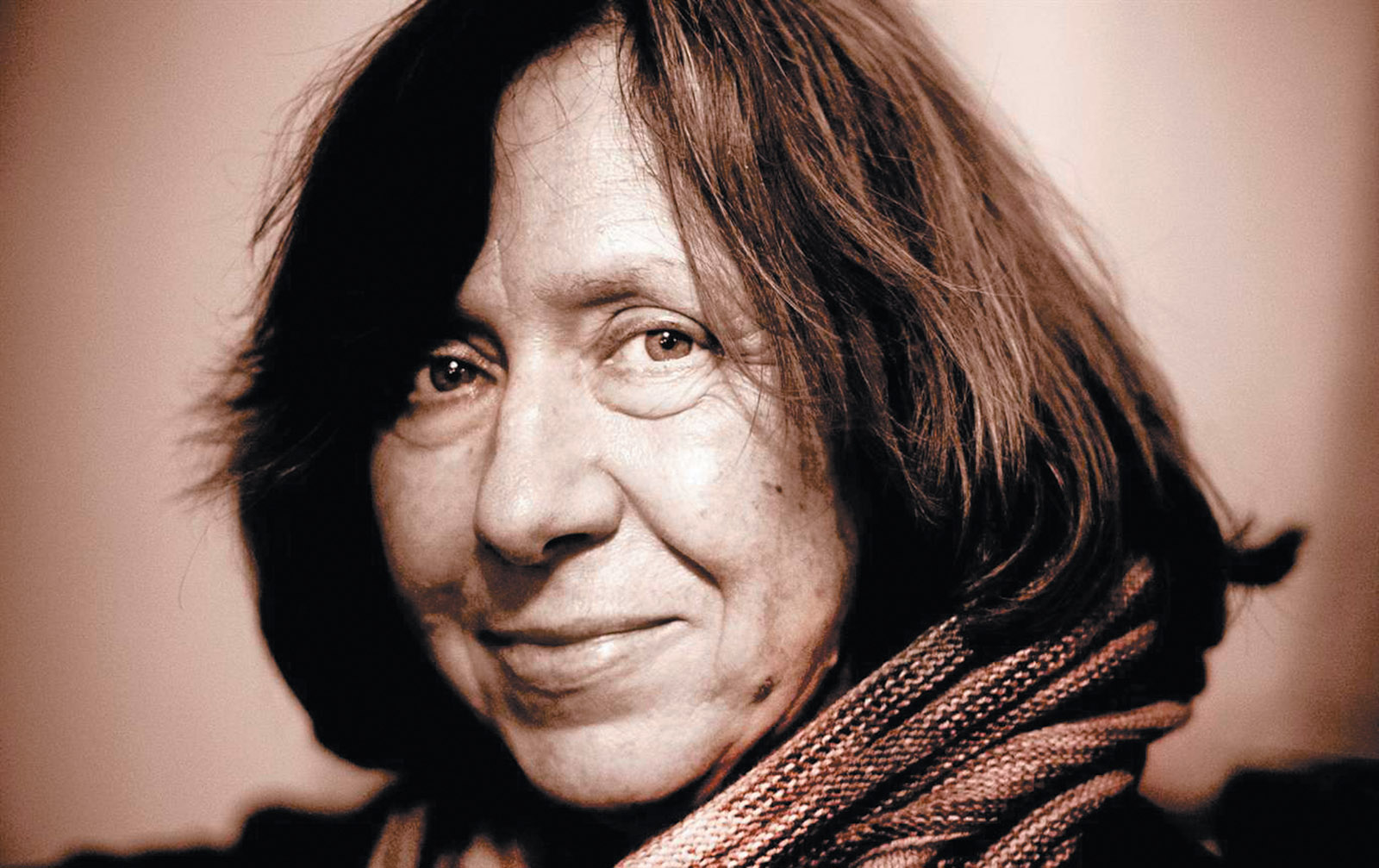 Svetlana Alexievich, Stockholm, November 2012
