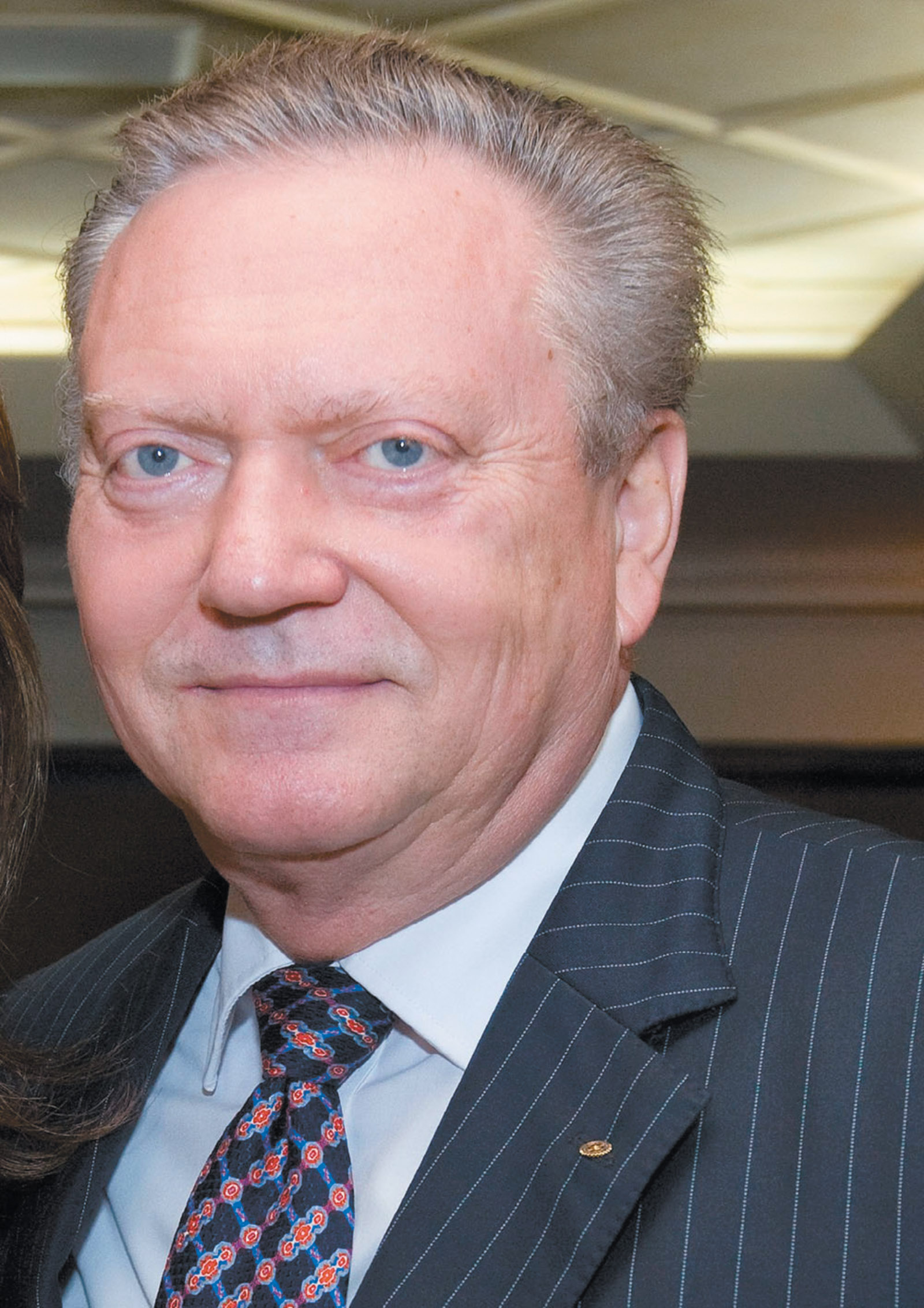 Jürgen Mossack, co-founder of the Panamanian law firm Mossack Fonseca, whose practices of tax evasion were leaked in the Panama Papers, June 2014