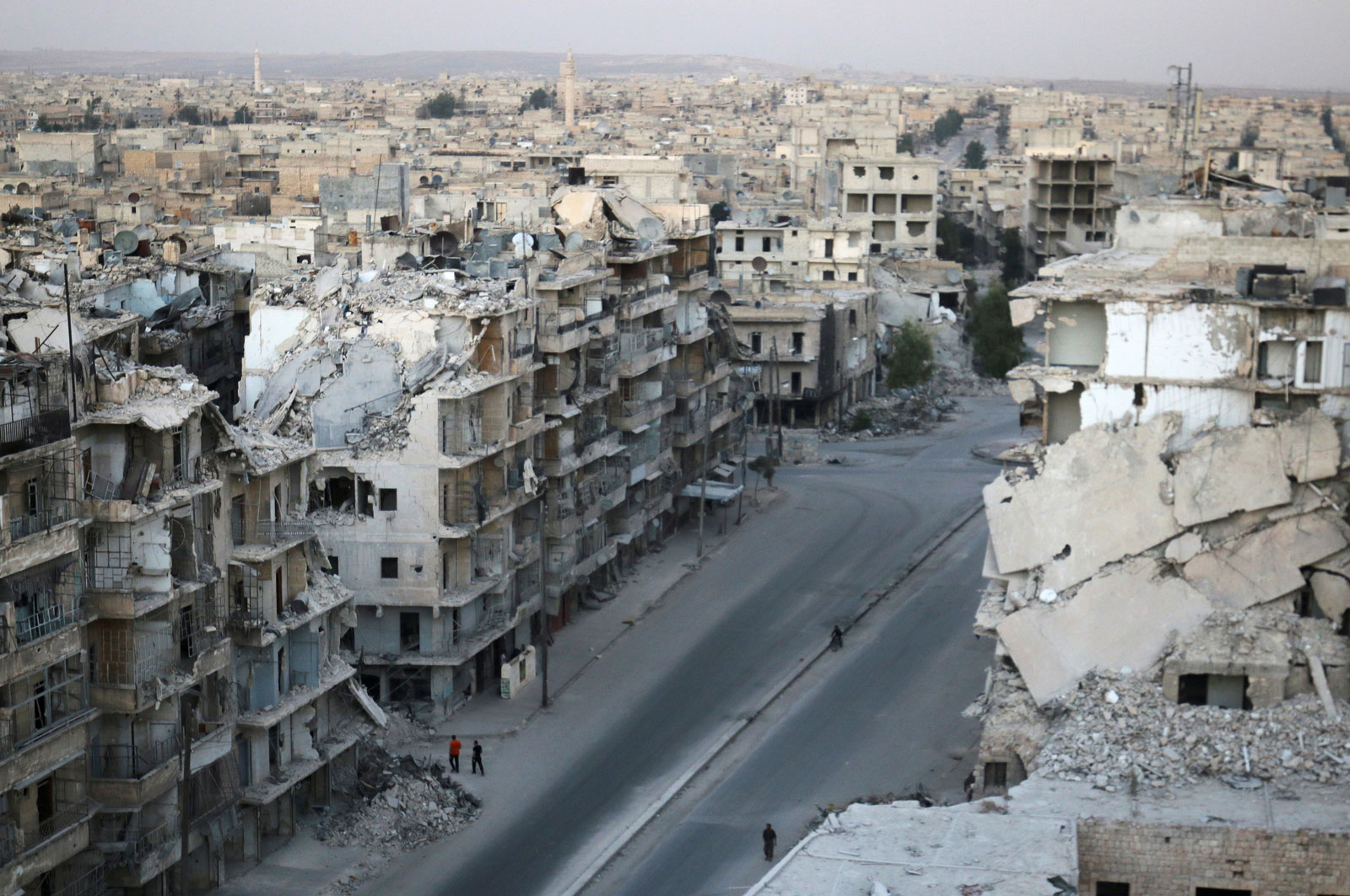 Aleppo, Syria, October 5, 2016