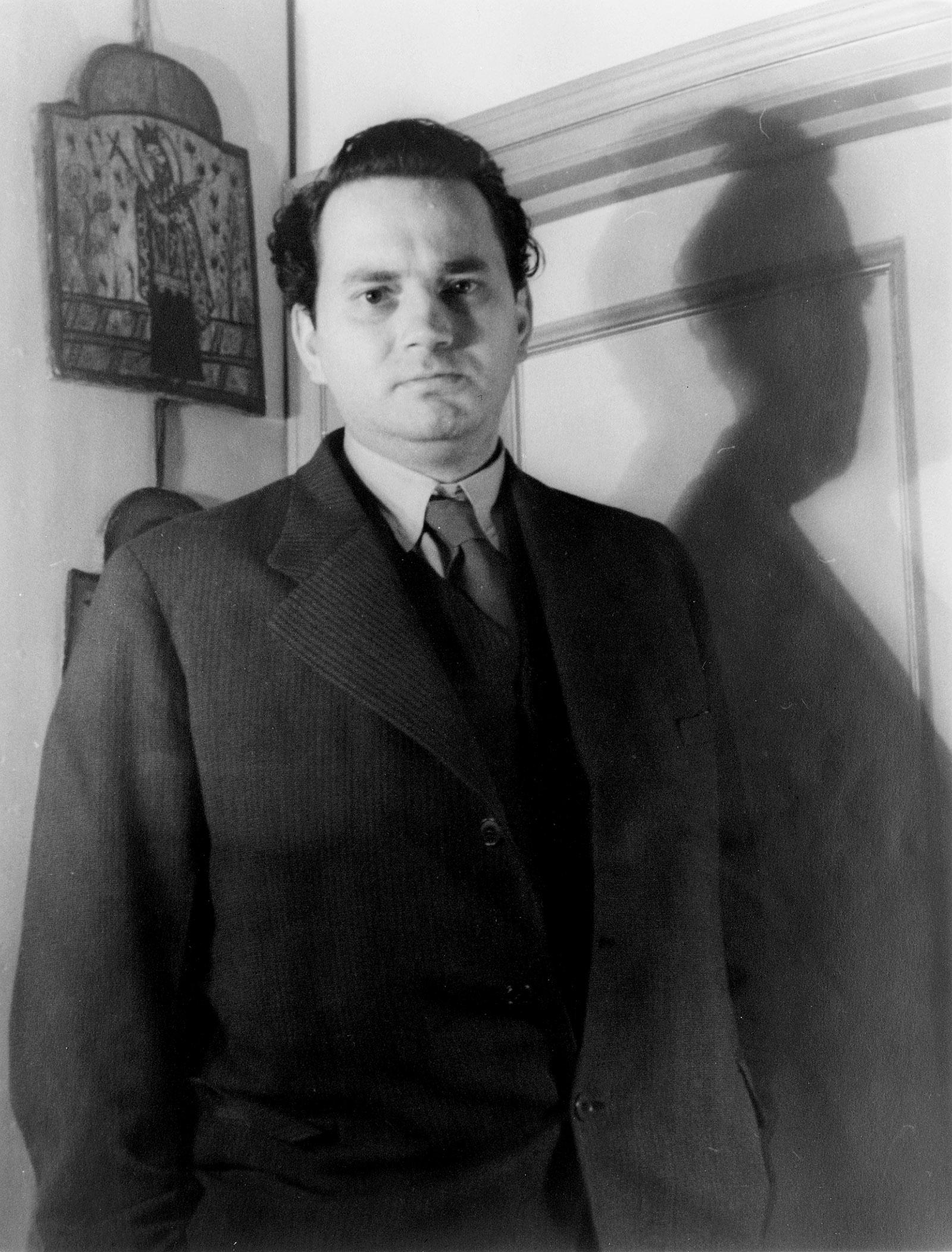 Thomas Wolfe, April 1937; photograph by Carl Van Vechten