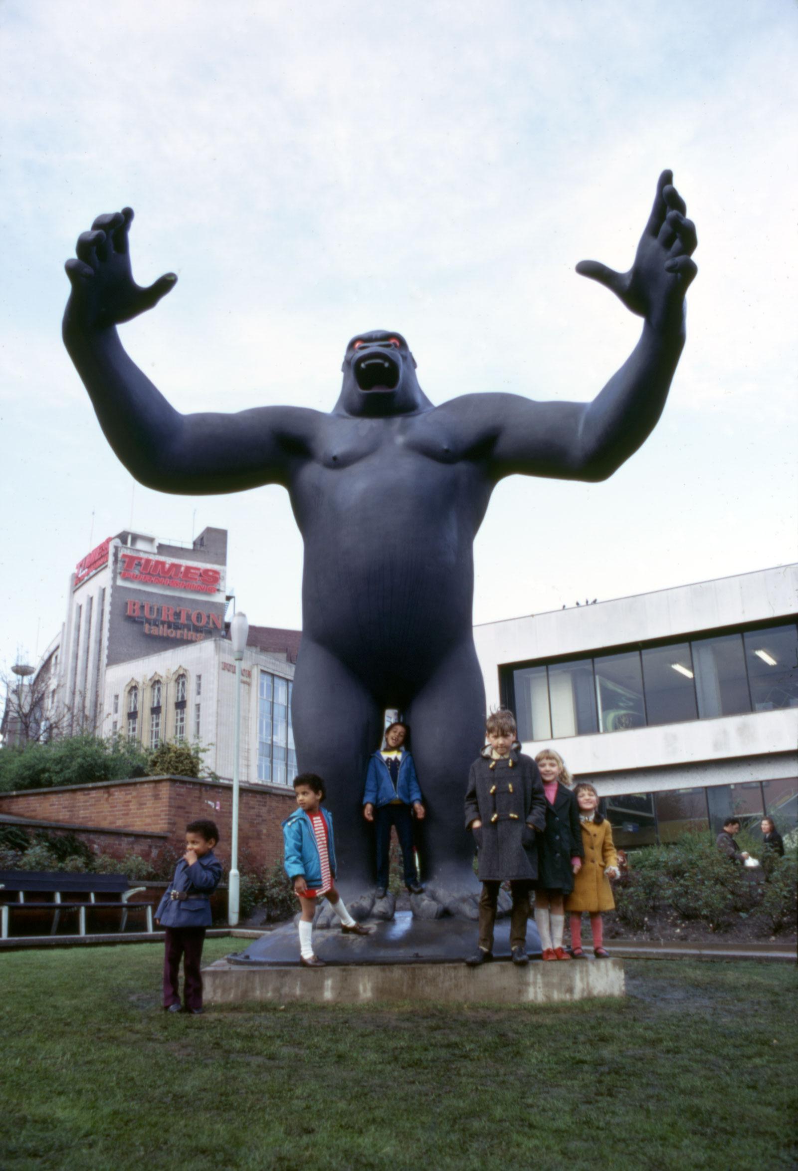 Nicholas Monro's King Kong, Manzoni Gardens, Birmingham, England, 1972