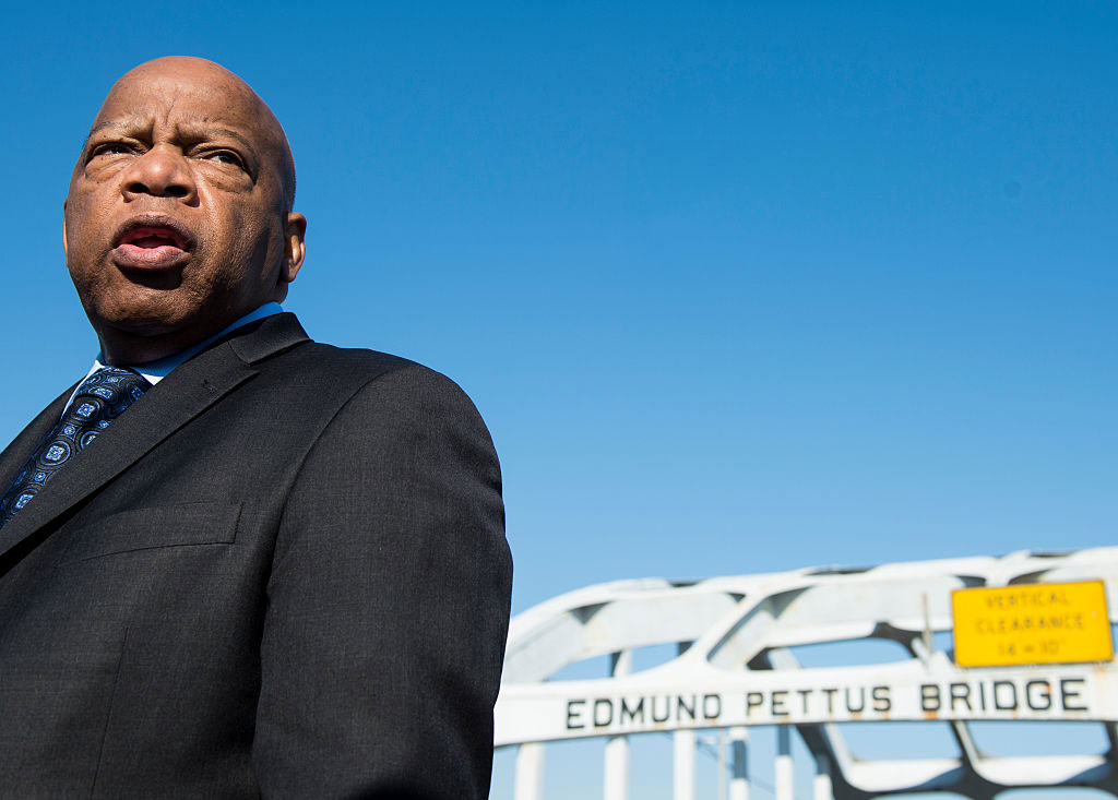 Representative John Lewis, Selma, Alabama, February 14, 2015