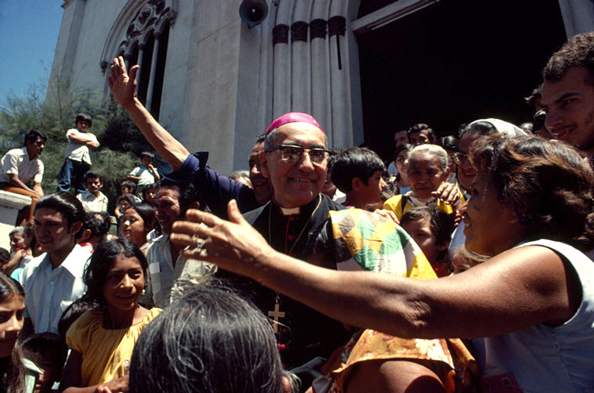 Archbishop Óscar Arnulfo Romero, the year before his murder by right-wing paramilitaries, El Salvador, 1979