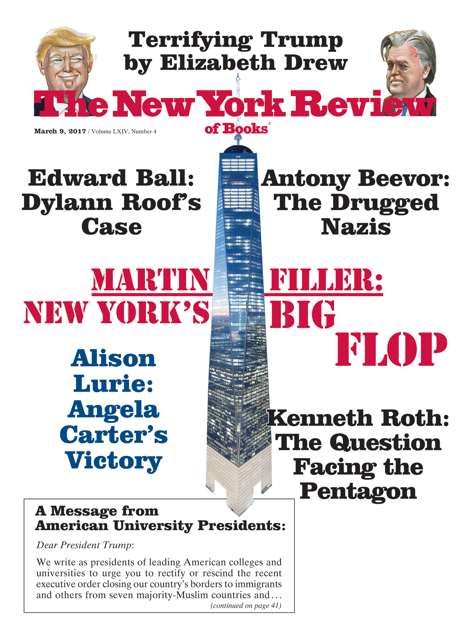 Image of the March 9, 2017 issue cover.