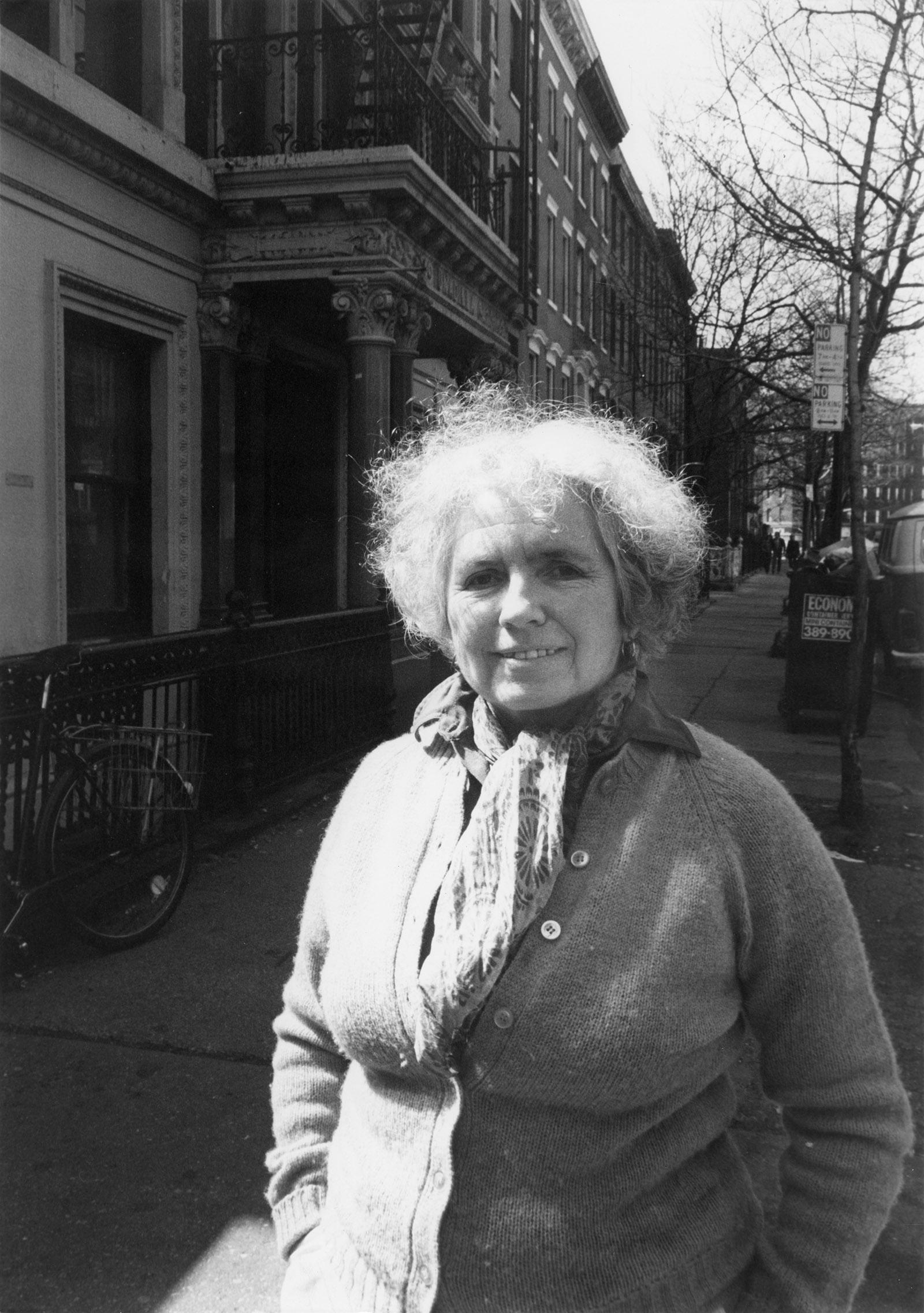 Grace Paley, New York City, April 1985
