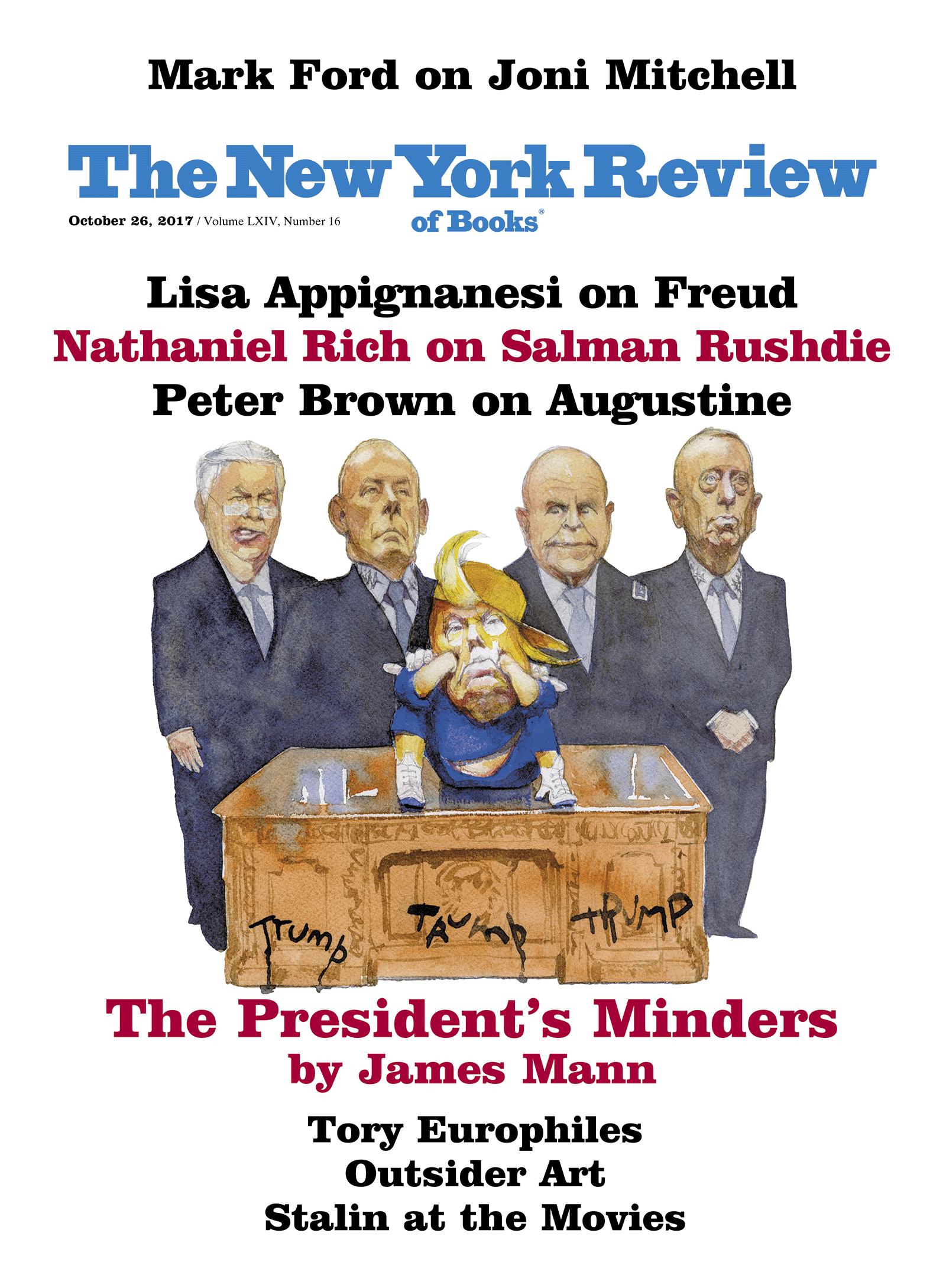 Image of the October 26, 2017 issue cover.
