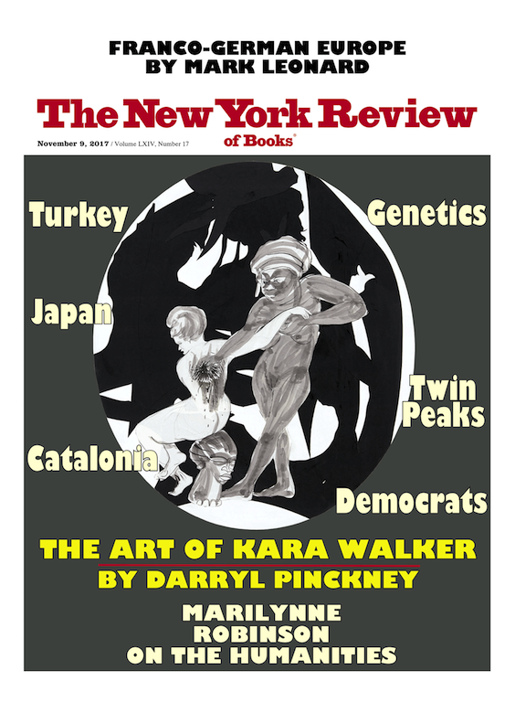 Image of the November 9, 2017 issue cover.
