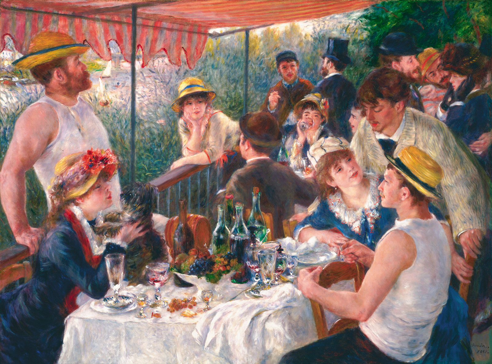 Pierre-August Renoir: Luncheon of the Boating Party, 1880–1881
