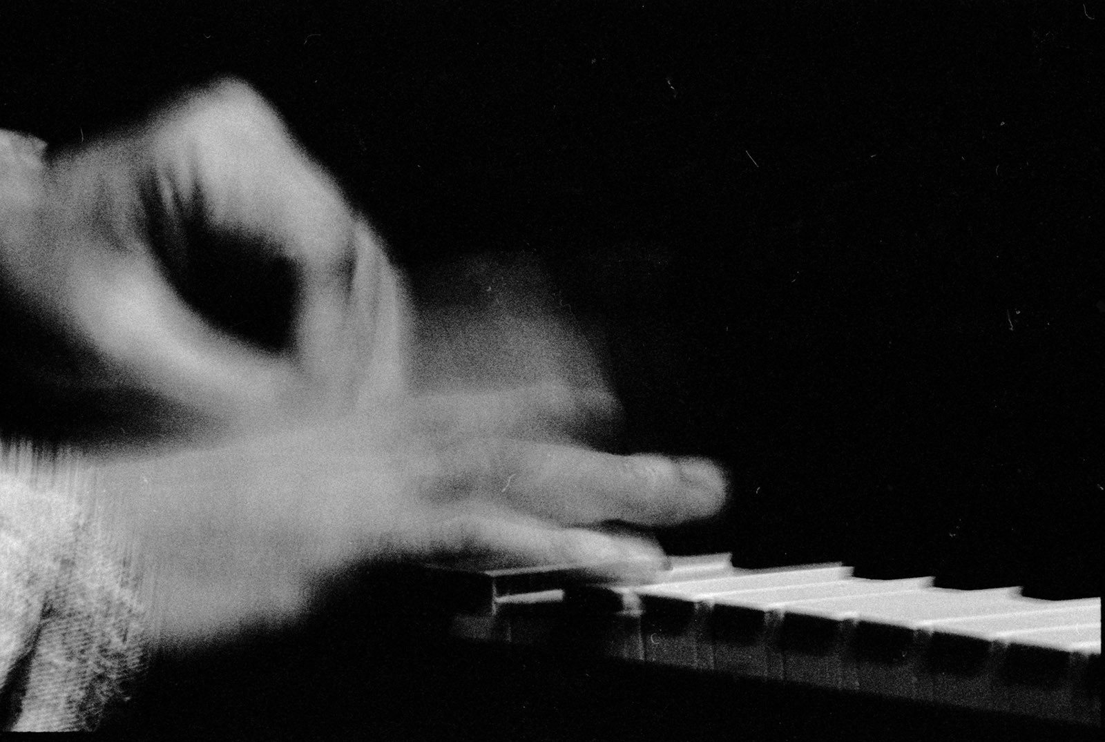 Cecil Taylor playing at the Sweet Basil nightclub, New York, 1989