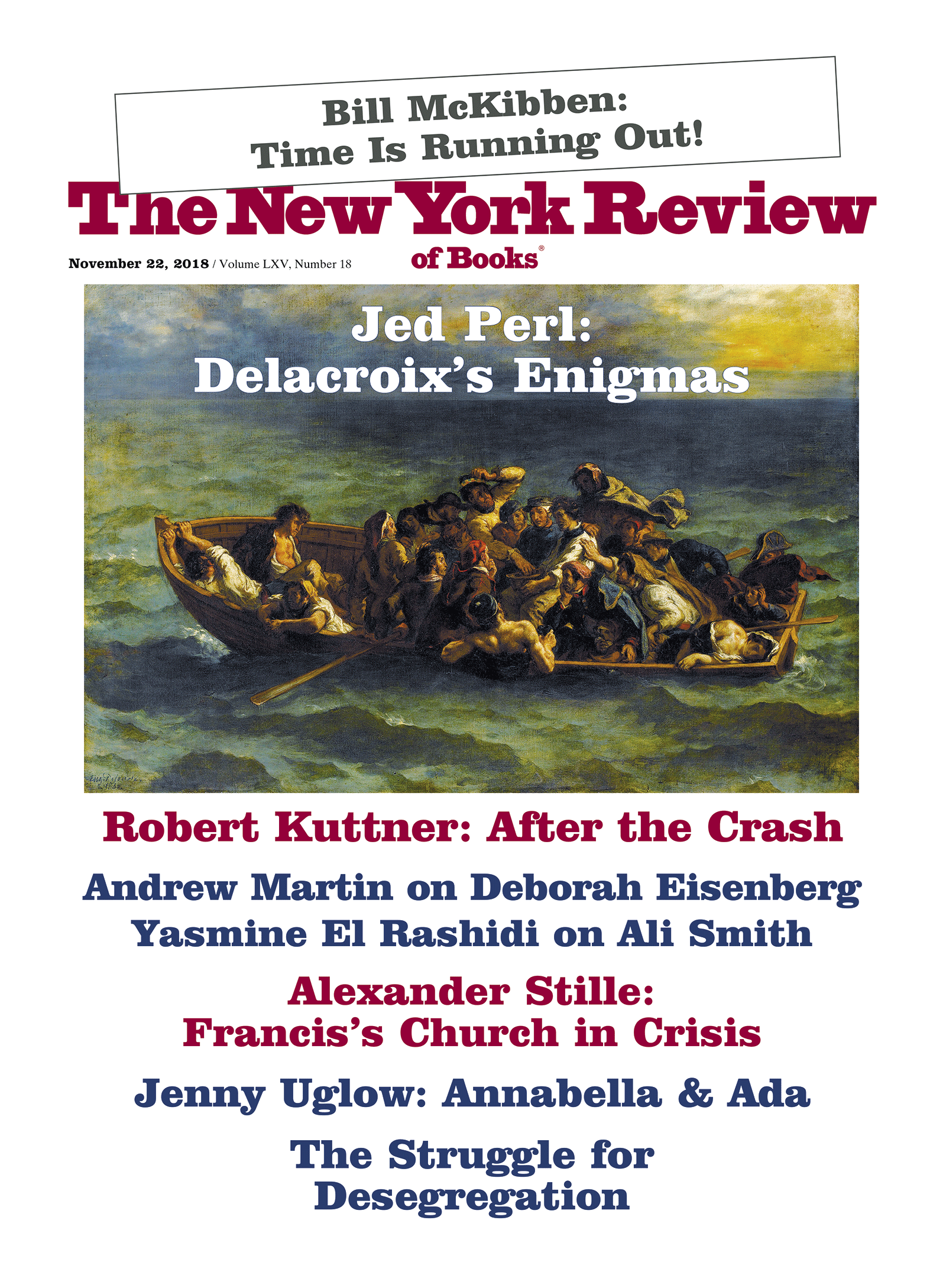 Image of the November 22, 2018 issue cover.