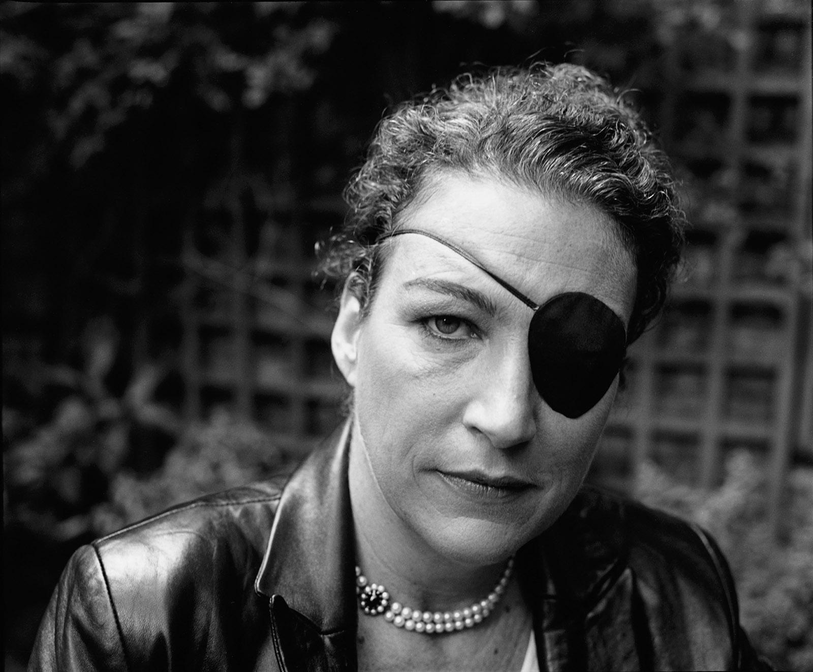 Marie Colvin, London, 2005