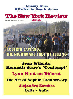 Image of the March 7, 2019 issue cover.