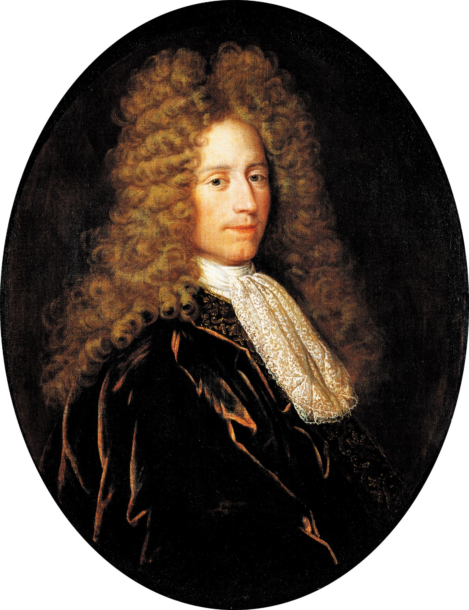 Painting of John Law by Alexis Simon Belle, circa 1715–1720