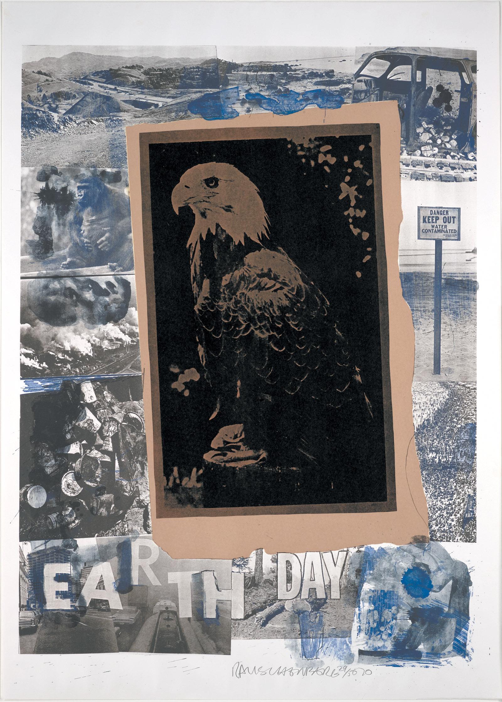 Robert Rauschenberg's Earth Day, 1970