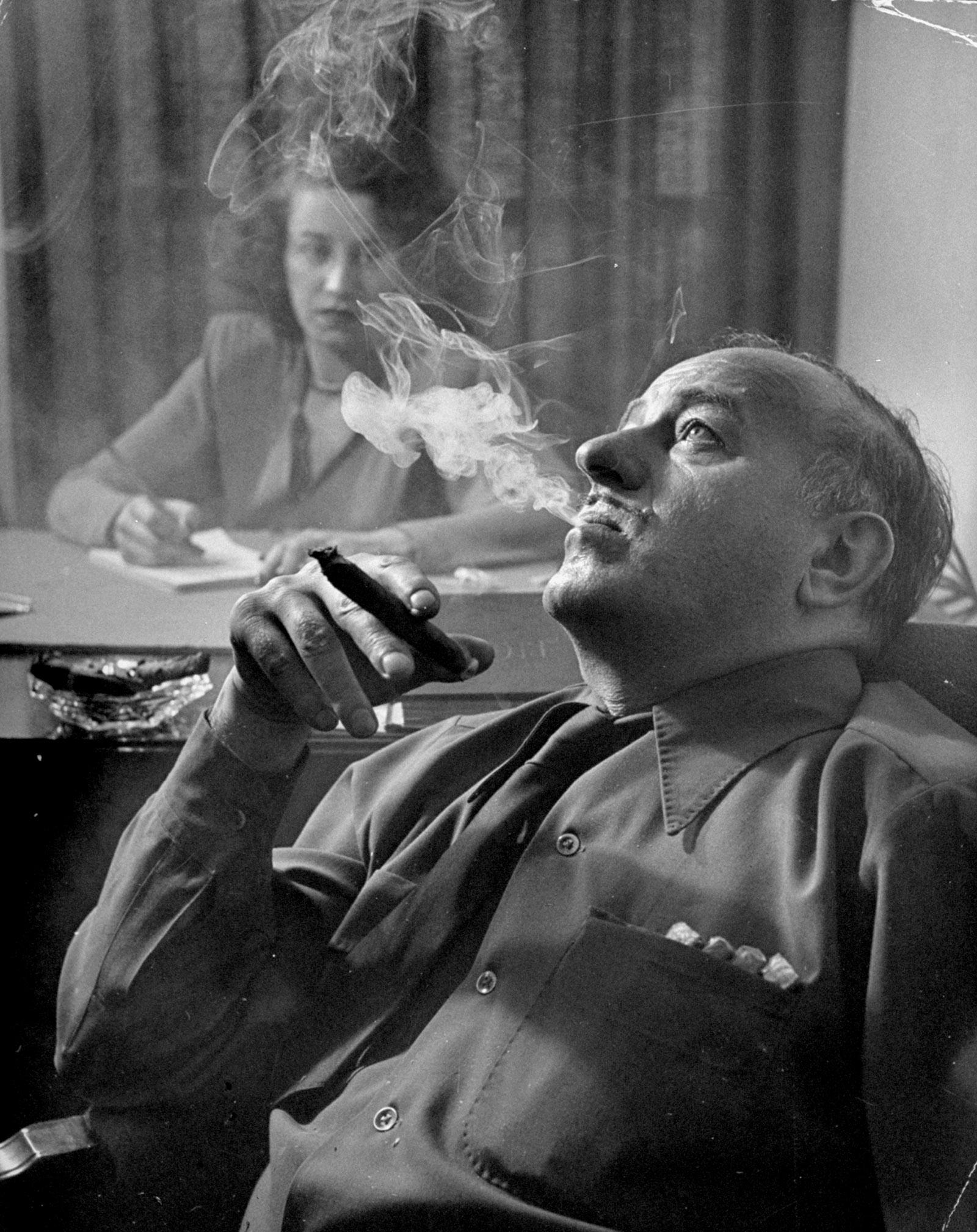 Ben Hecht, circa 1946