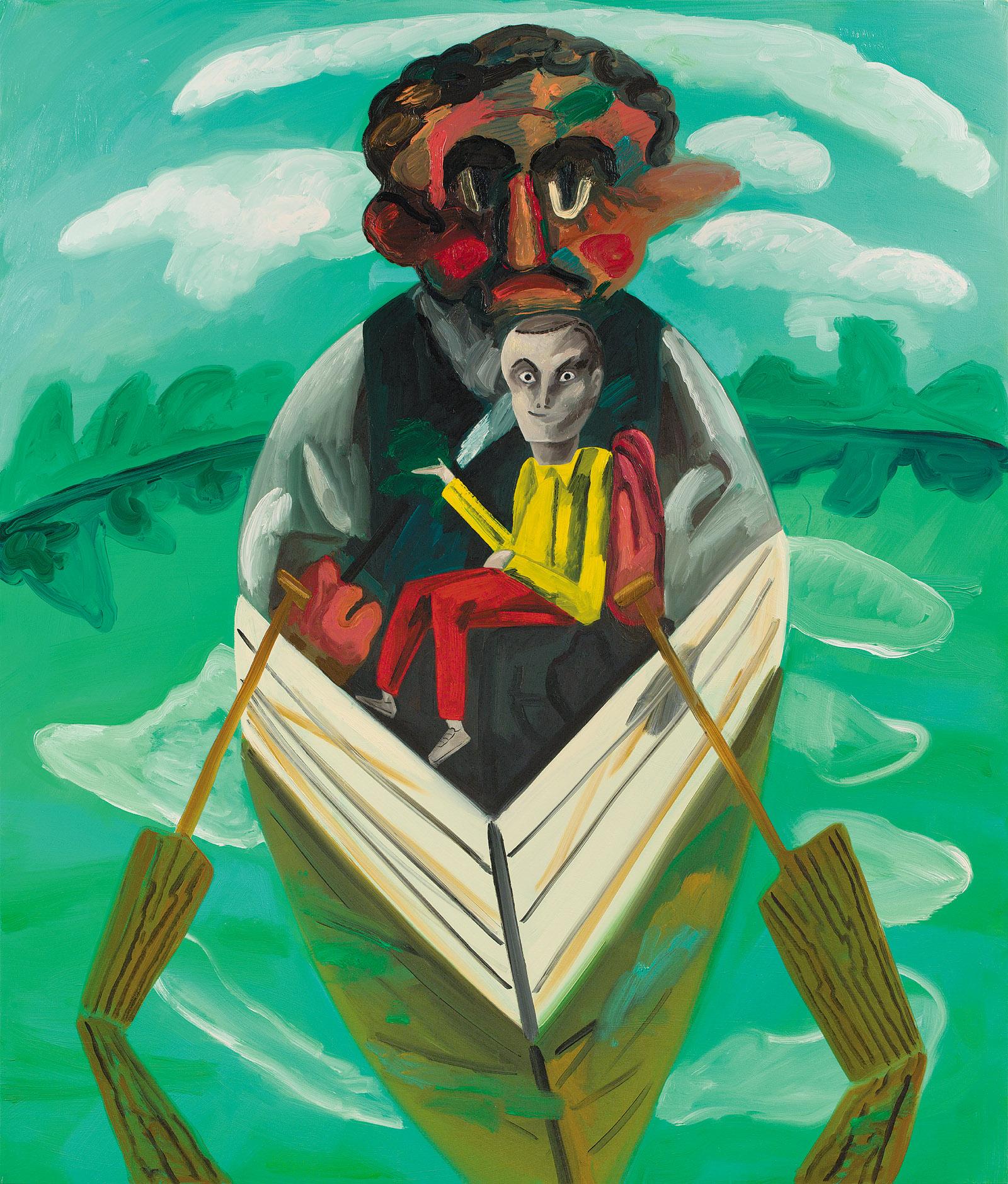 Boatman by Dana Schutz