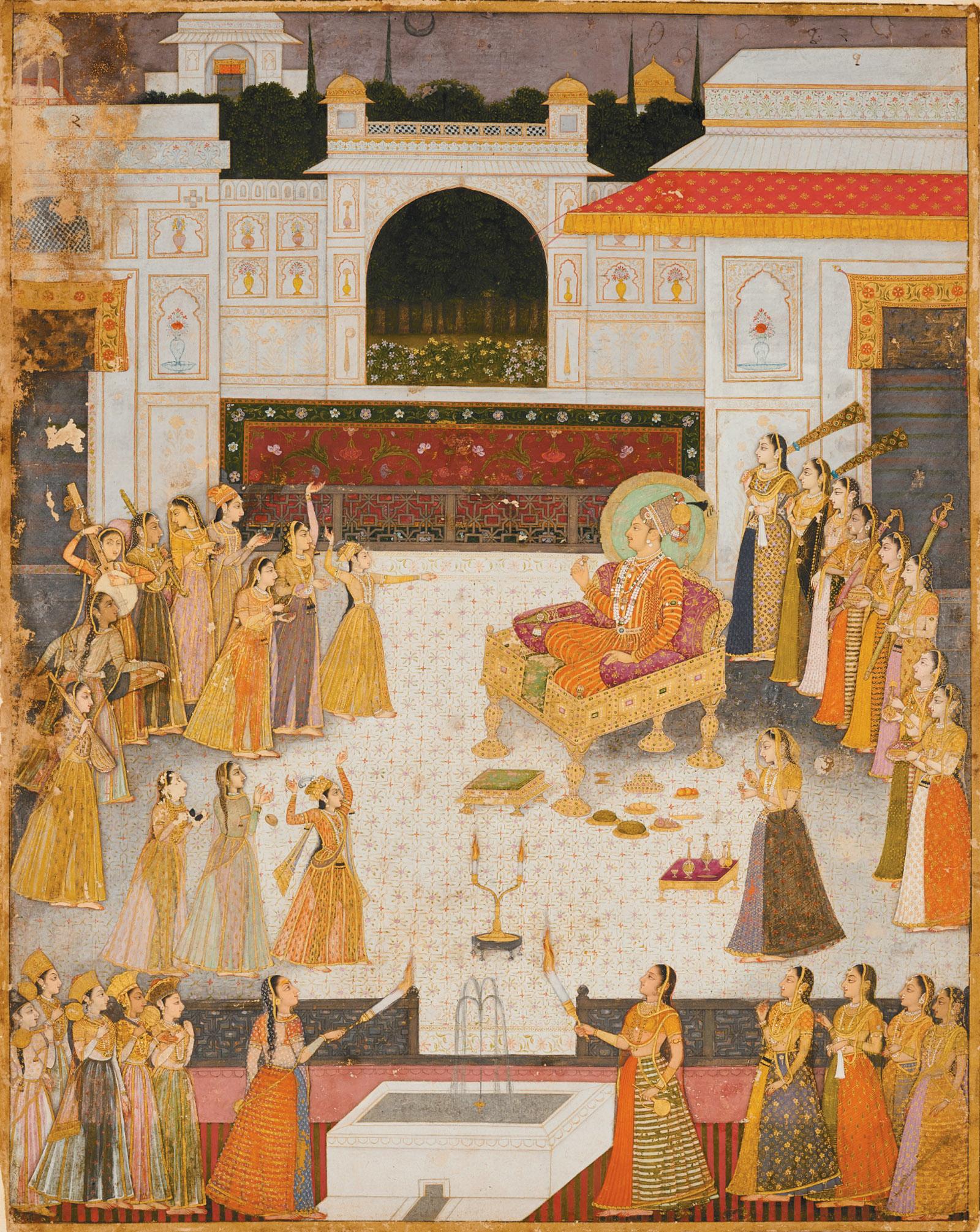 An Evening Performance for Maharaja Abhai Singh by Rai Dalchand