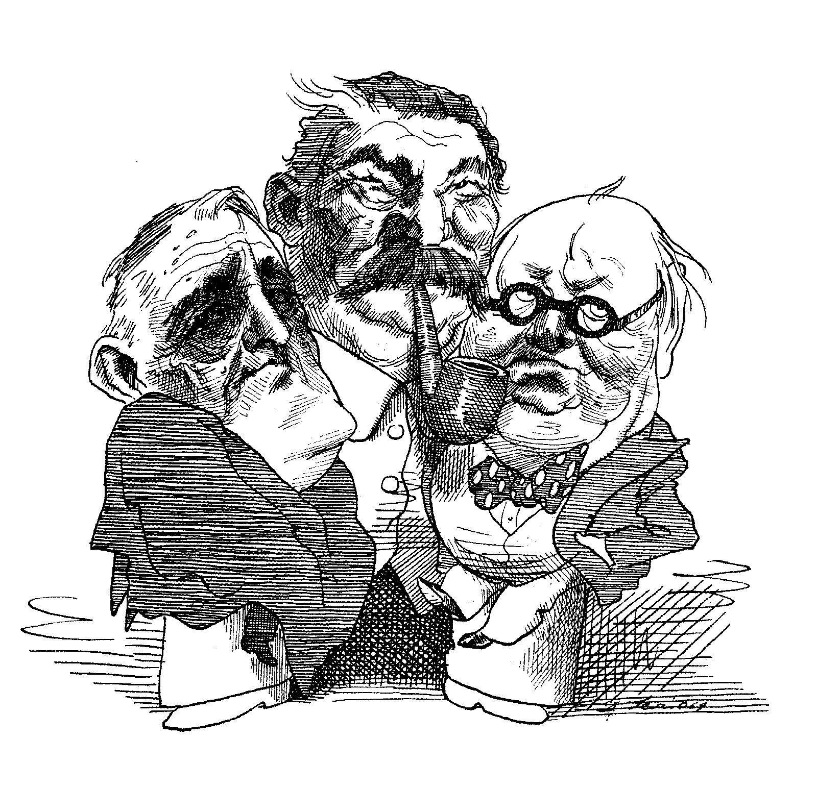 Roosevelt, Stalin and Churchill