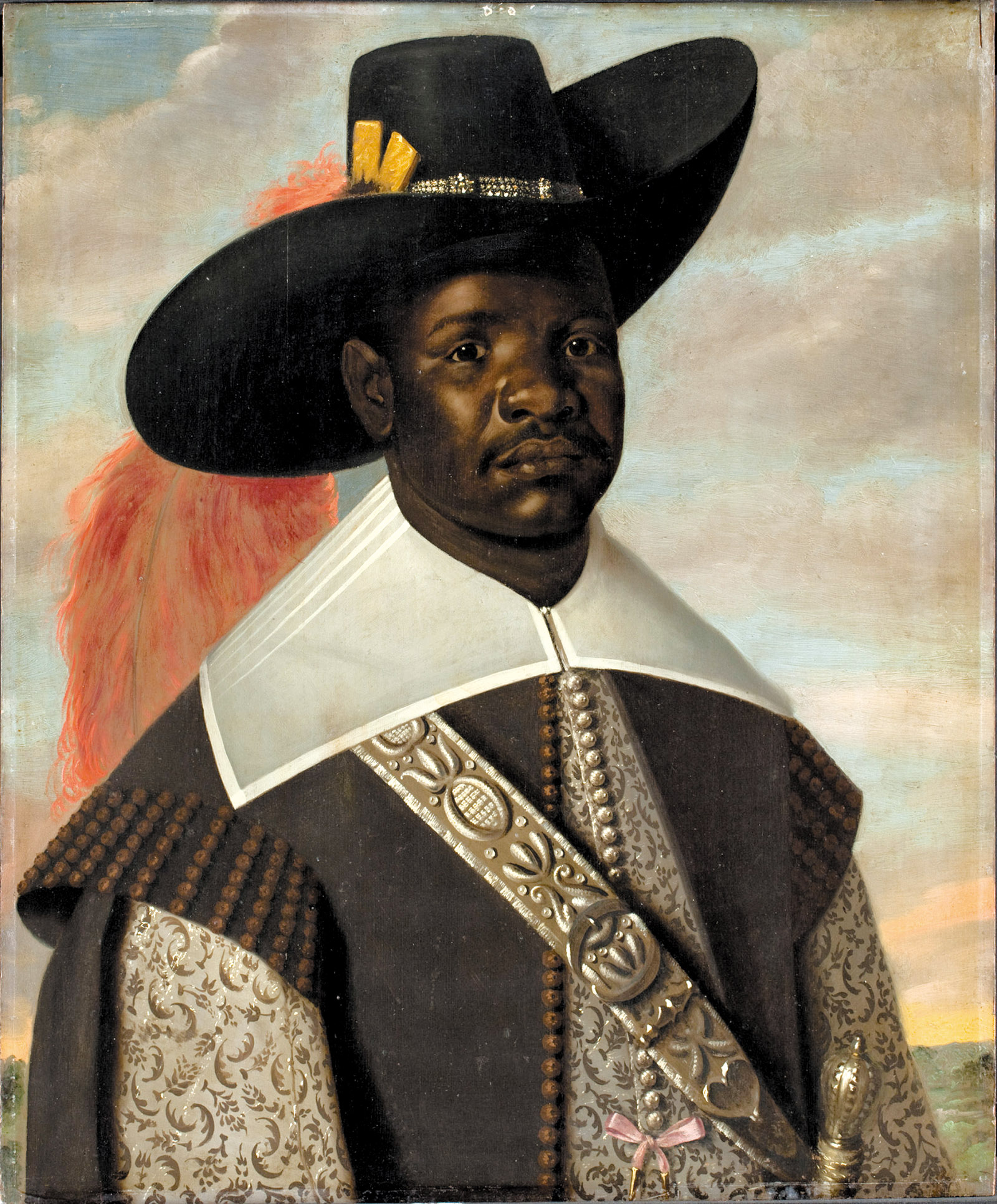 Dom Miguel de Castro, Emissary of Kongo by Jaspar Beckx, circa 1643