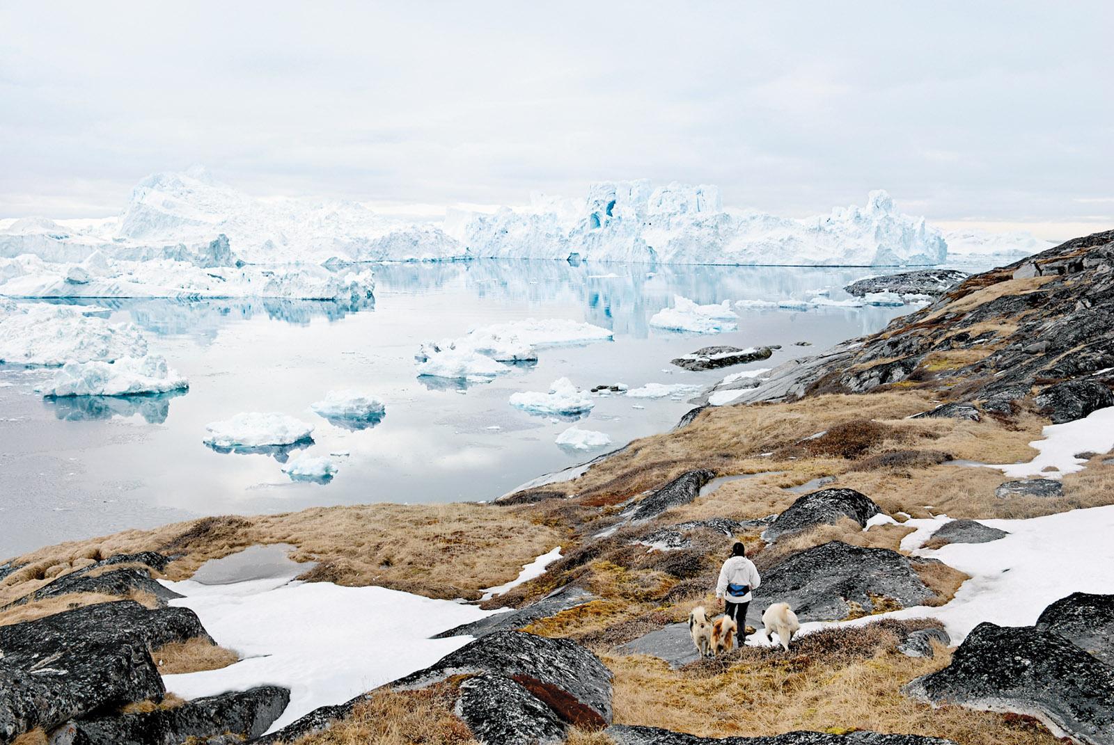 Icebergs off the coast of Ilulissat, Greenland, 2007