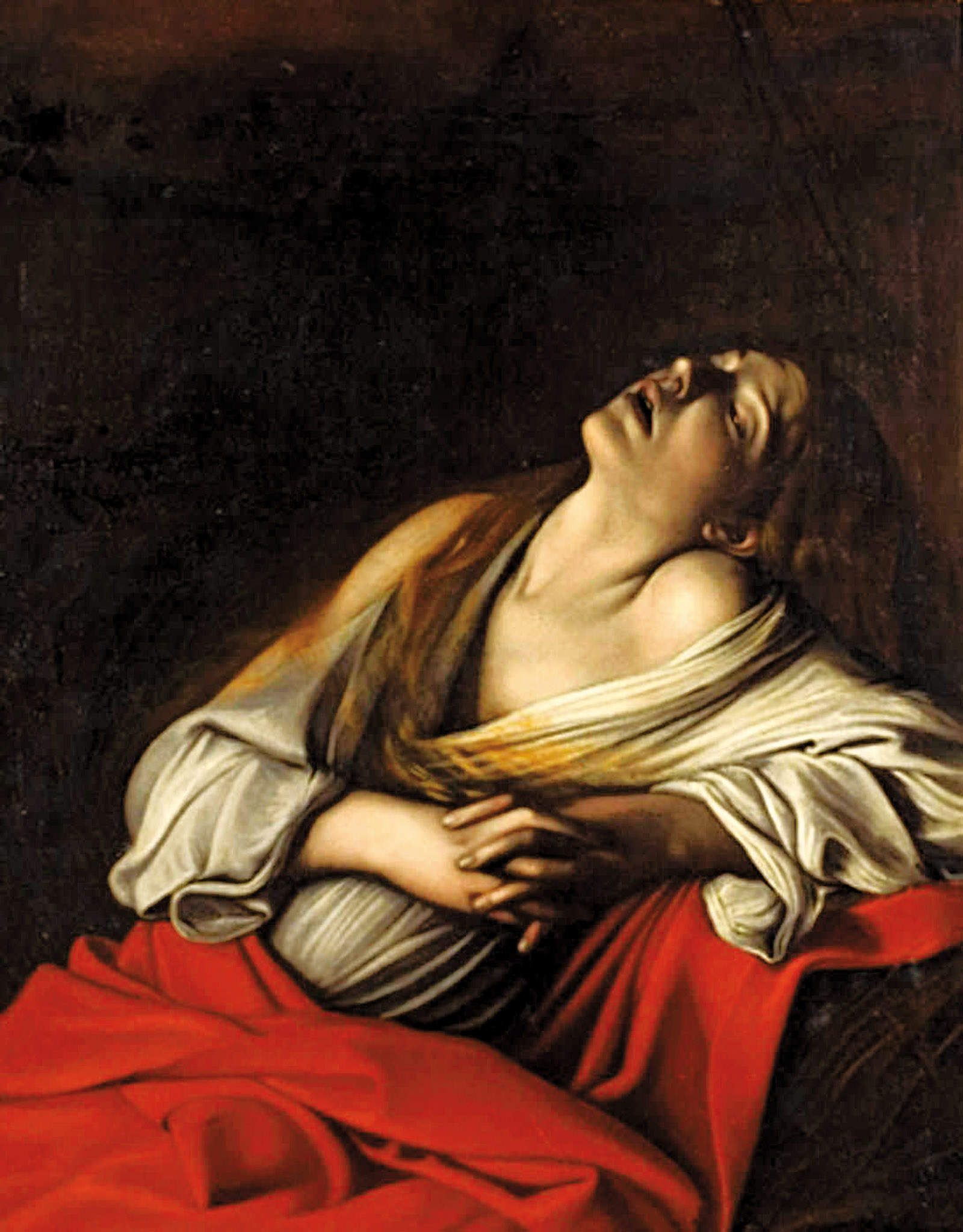 Caravaggio's painting, Mary Magdalene in Ecstasy, 1606