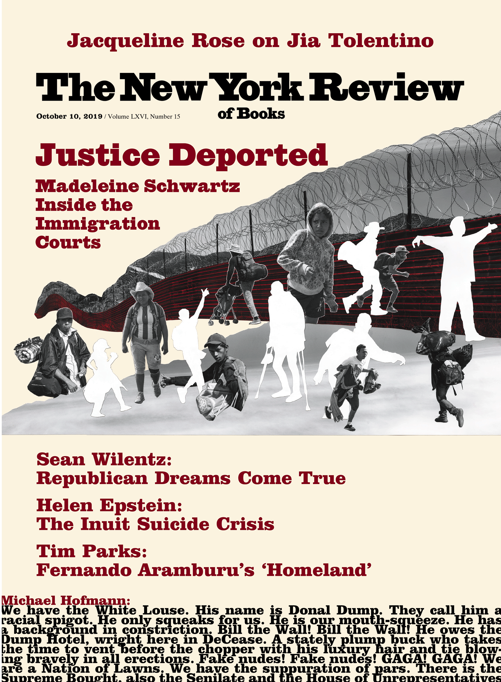 Image of the October 10, 2019 issue cover.