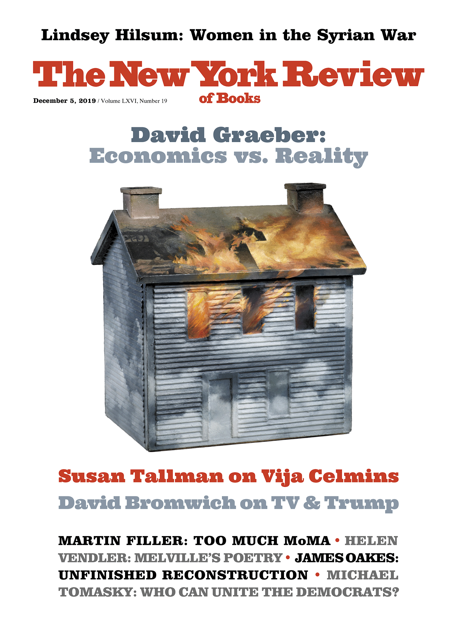 Image of the December 5, 2019 issue cover.