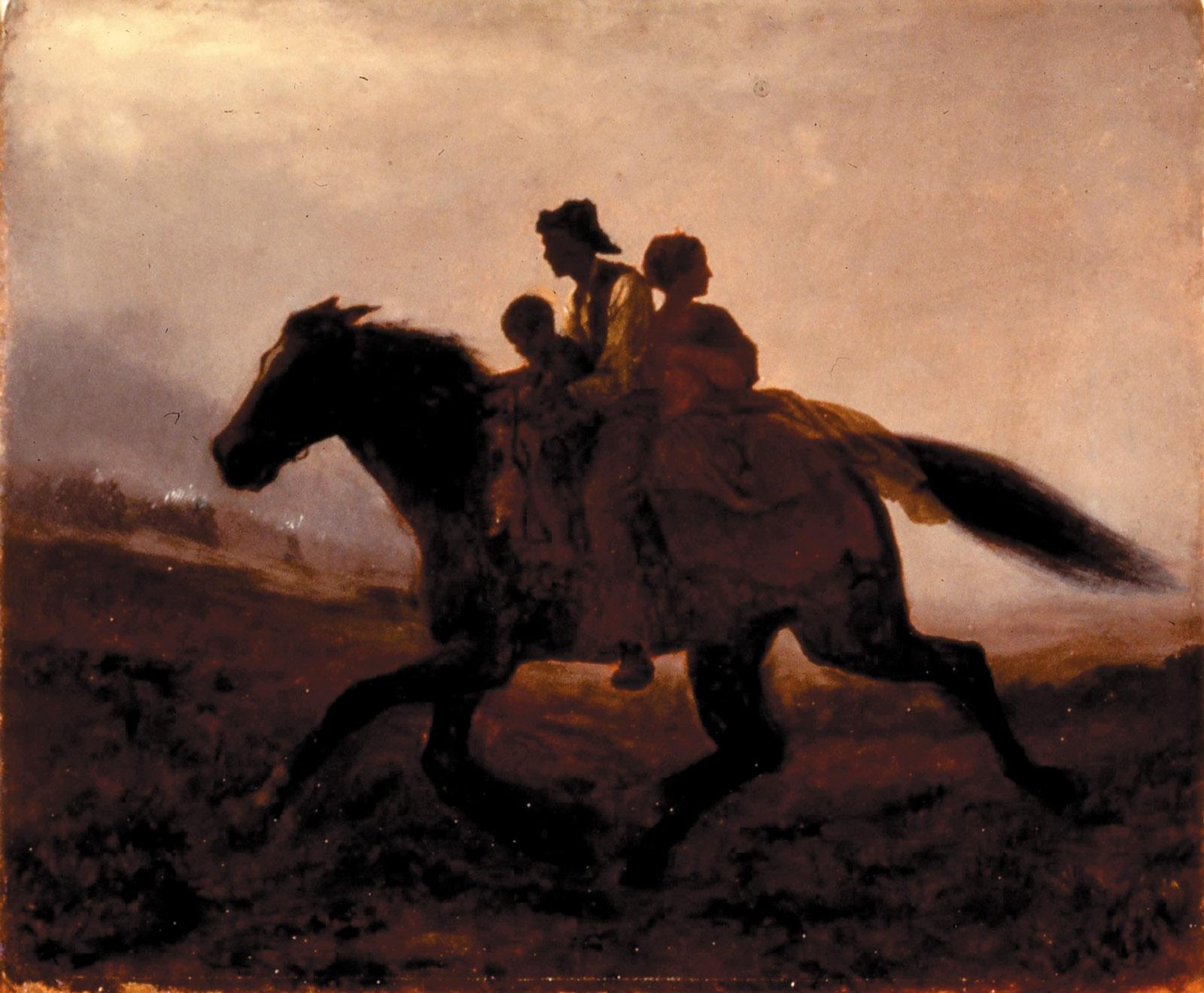 Eastman Johnson: A Ride for Liberty—The Fugitive Slaves, circa 1862