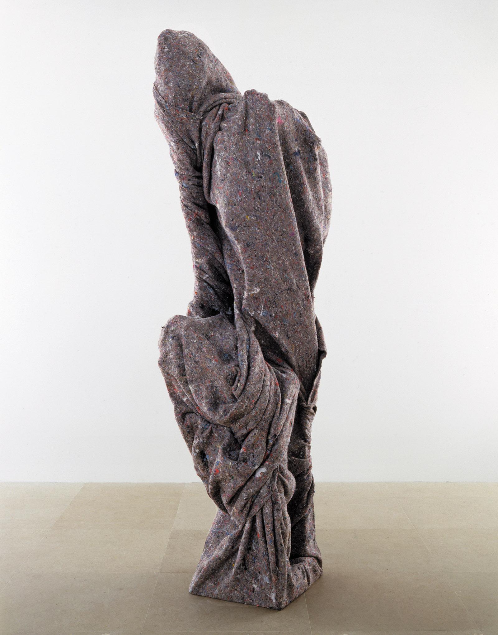 Warren Beatty, 2007; a sculpture by Rachel Harrison