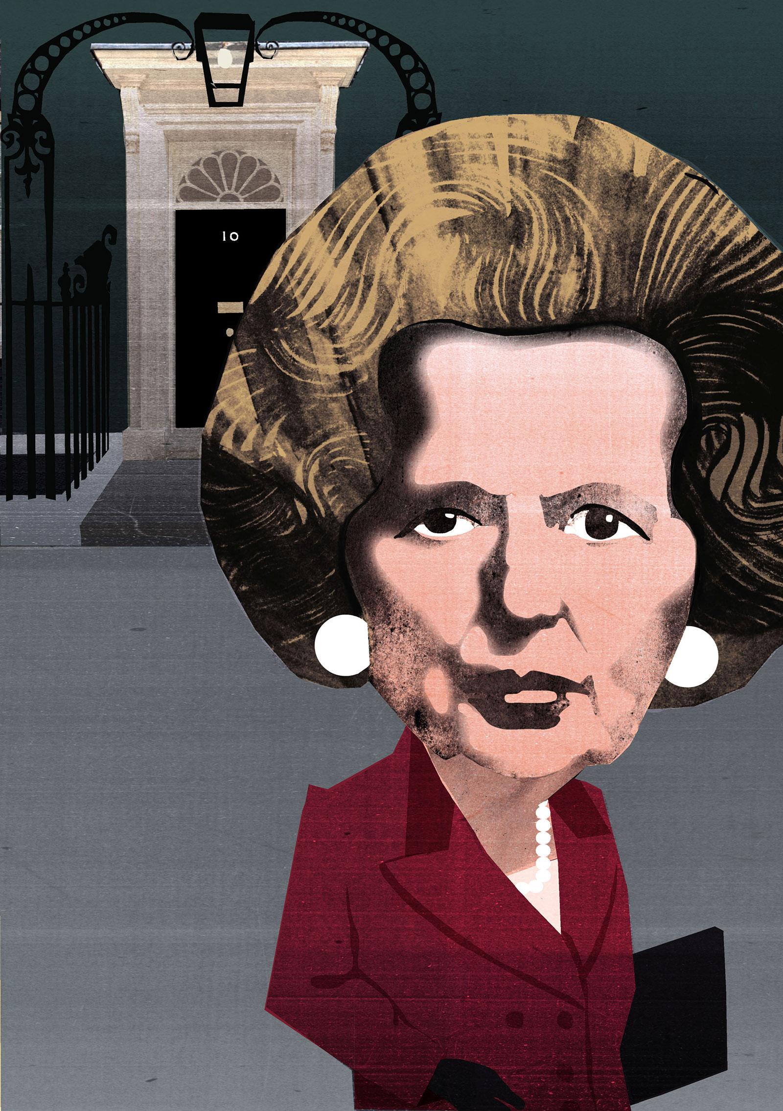 Margaret Thatcher by Ellie Foreman-Peck