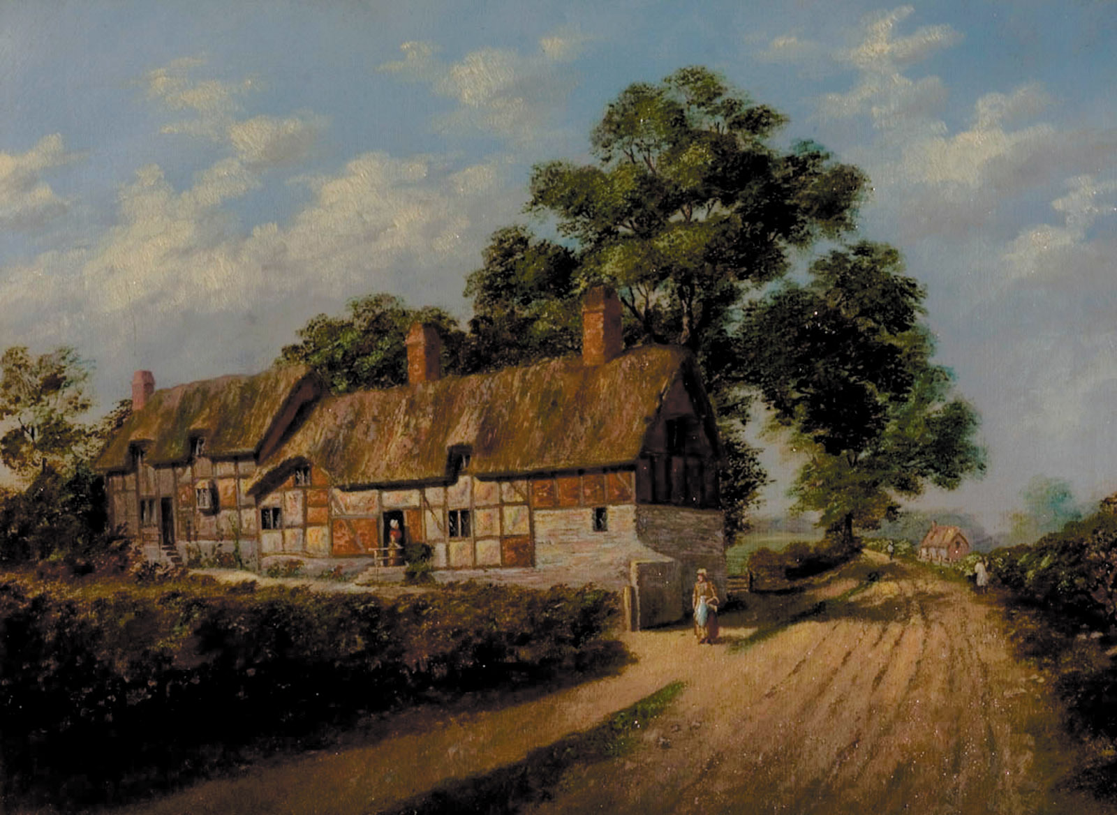 Anne Hathaway's Cottage by John Theobald Marshall