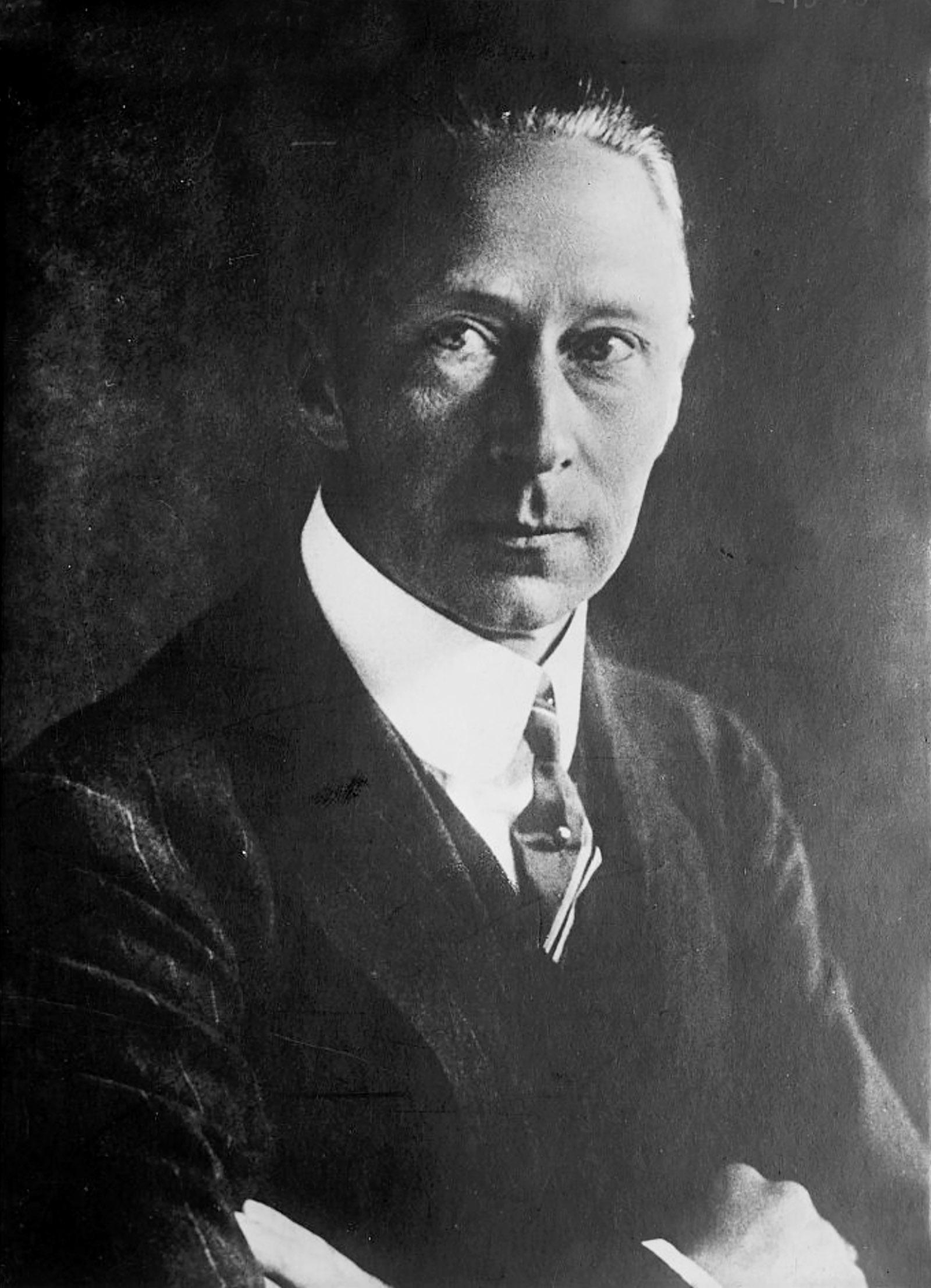Crown Prince Wilhelm, circa 1920
