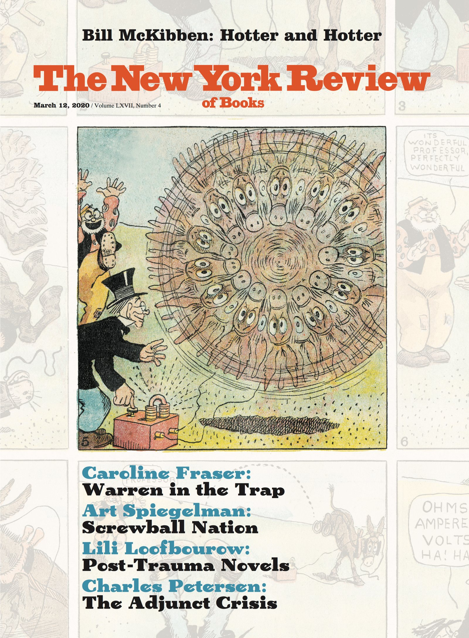 Image of the March 12, 2020 issue cover.