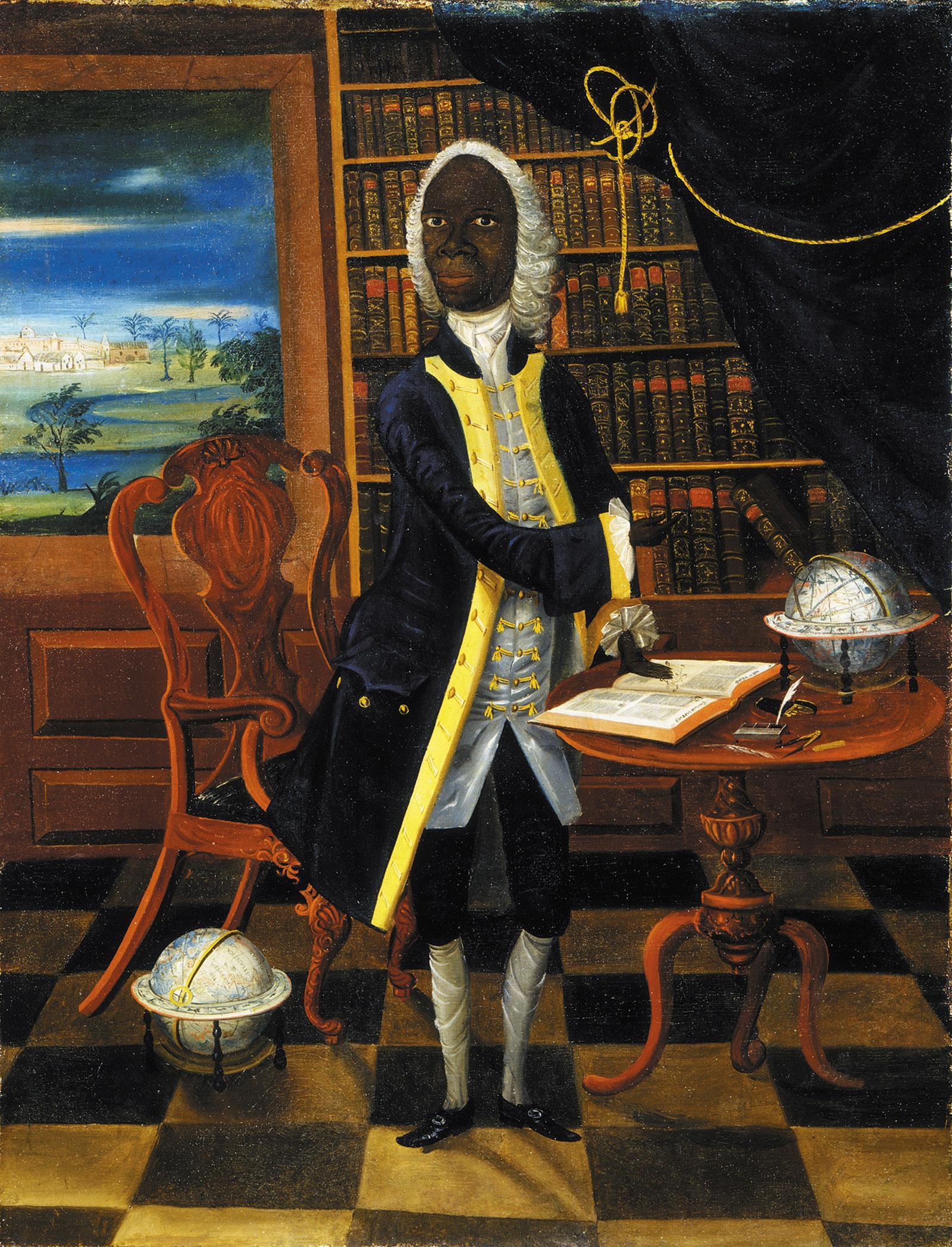 Portrait of Jamaican scholar and poet Francis Williams