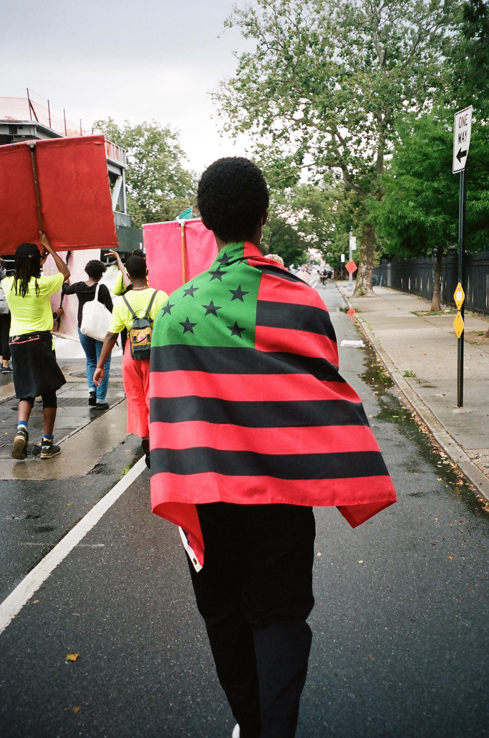 We Keep Us Safe; photograph by Amandla Baraka