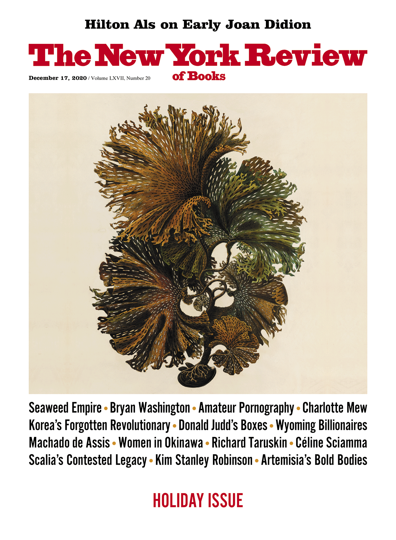 Image of the December 17, 2020 issue cover.