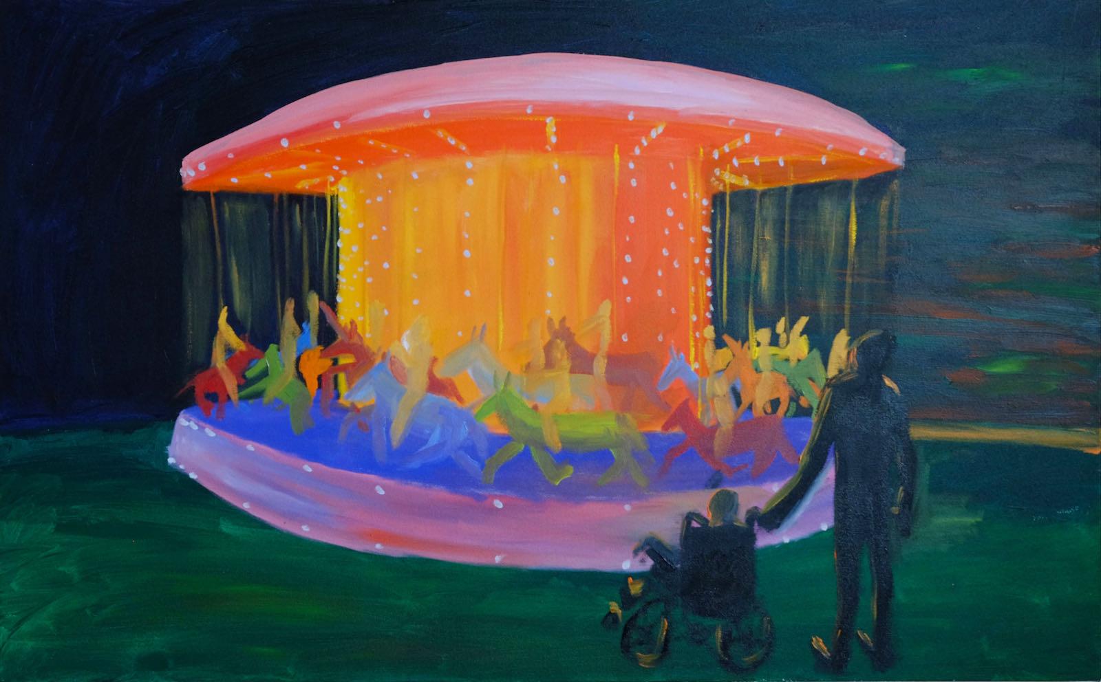 Carousel painting