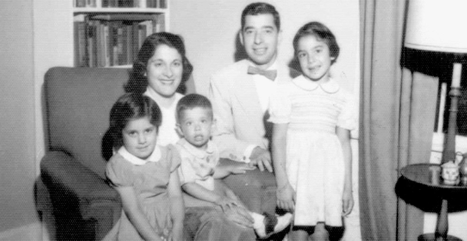 Maxine Kumin and her family