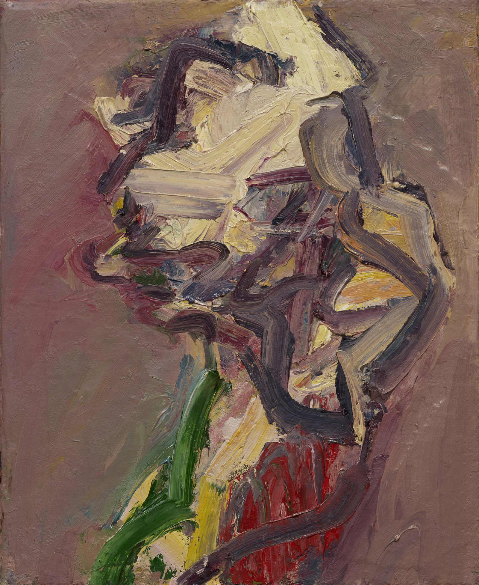 Catherine Lampert—Profile; painting by Frank Auerbach