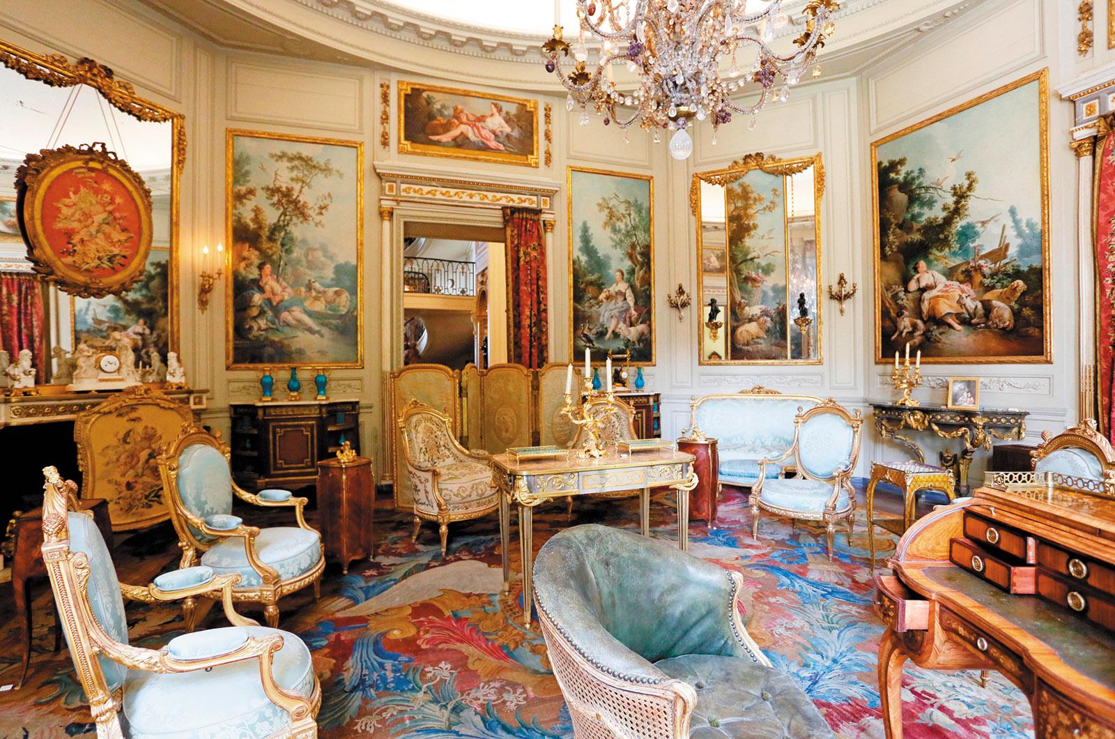 The Salon des Huet, Musée Nissim de Camondo, Paris