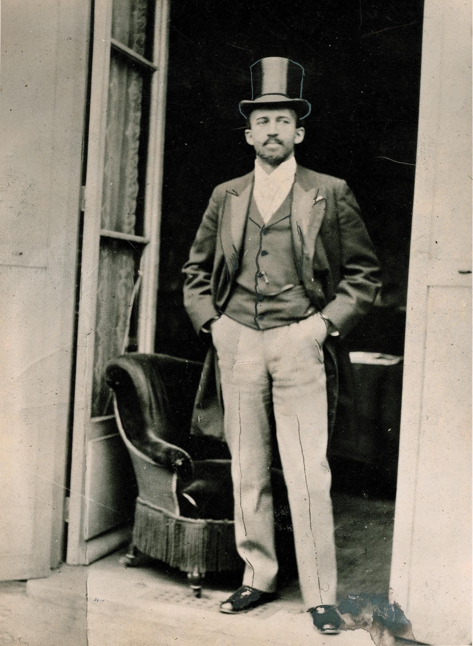 W.E.B. Du Bois at the Paris Exposition, 1900